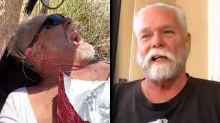 Injured Hiker Saved After Being Stranded for 40 Hours in Desert