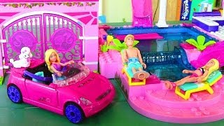MEGA BLOKS Barbie On the Go Build n Style Barbie Doll Car
