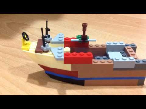 Making A Explorer Diver Boat