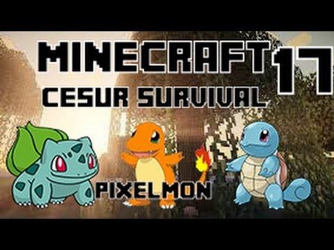 Minecraft CESUR Survival - Enes ve Baturay - Bölüm 17 - Pixelmon
