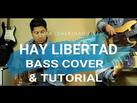 Hay Libertad - Barak (Shekinah Live) • Bass Cover & Tutorial•Descarga Los Charts En La Descripción⬇️