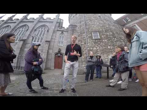 Red Hugh ODonnell Story - SANDEMANs NEW Dublin Tours - Dublin Castle stop