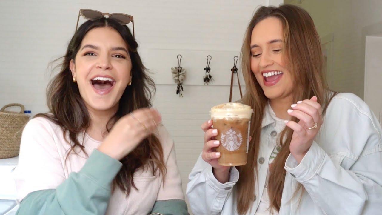 TRYING EVERY PUMPKIN DRINK + FALL CLOTHING HAUL VLOG| Cody & Lexy