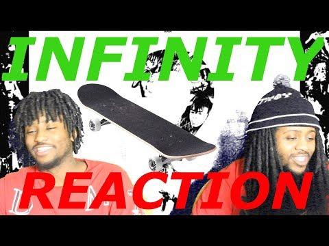 XXXTentacion ? INFINITY ft JOEY BADA$$ SKATERS REACTION