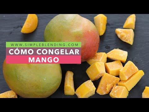 Cómo congelar el mango en casa   Cómo congelar frutas en casa