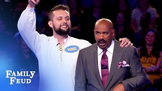 CRAZY ANSWER! INCREDIBLE COMEBACK! | Family Feud
