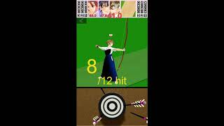 Japanese archery game - Three person Kyudo