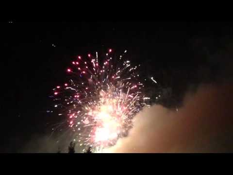 Belvidere, New Jersey - Independence Day Fireworks Hyperlapse HD (2015)