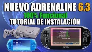 Adrenaline 6.3 Novedad Tutorial de Instalación 100% Funcional