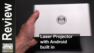 Xming M1 ALPD Portable Laser Projector DLP 1080P HD 2600 Lumens and Kodi Compatible