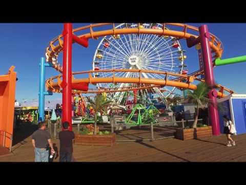 Aerial Cinema Productions -Santa Monica Time Lapse