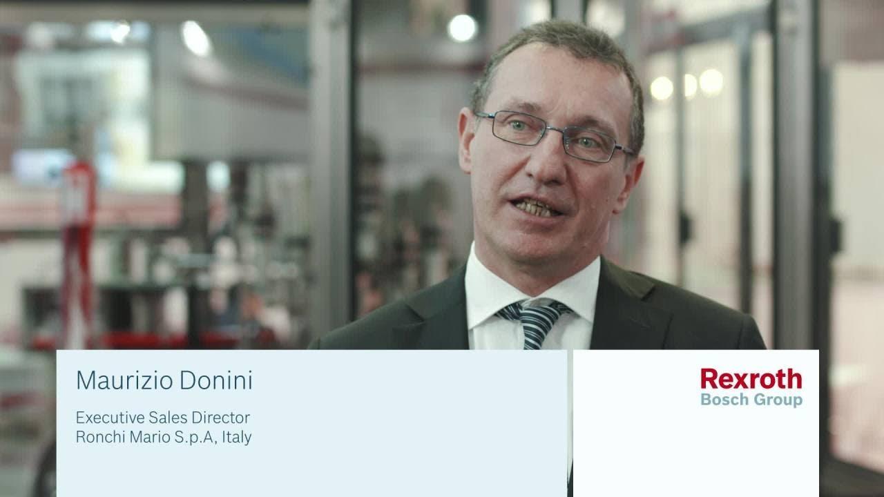 Flexibility and reliability - Customer statement Ronchi Mario