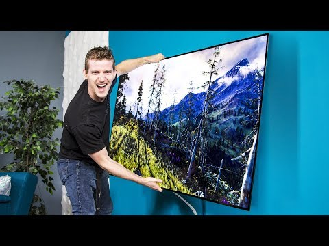 LG鈥檚 OLED Wallpaper TV 鈥� Can we use it as a WINDOW?? Pt.1