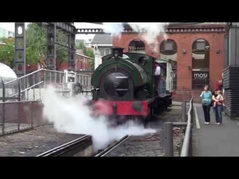 Manchester Museum of Science and Industry Steam Locomotive - Agecroft 1