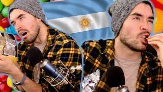 PROBANDO DULCES ARGENTINOS!