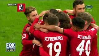 GOL: Frankfurt 1 - Freiburg 1