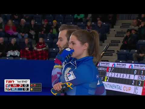WFG Continental Cup of Curling  - Mixed Doubles - Hasselborg/Eriksson vs. Weagle/Gushue