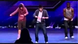 Zayn Malik dancing ( x Factor )
