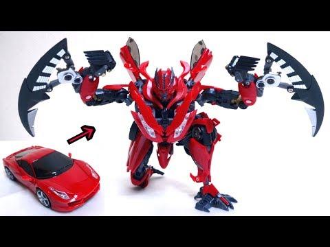 """【完全変形】STF-01 フィラージュ ヲタファのゆっくり変形レビュー /  Alien Attack STF-01 Firage not Transformers DOTM """"DINO"""""""