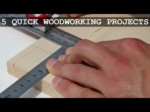 Woodworking Projects And Plans For Beginner | DIY Wood Projects