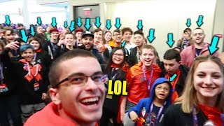 When you do a Fan Meetup...but there's more people than you thought!