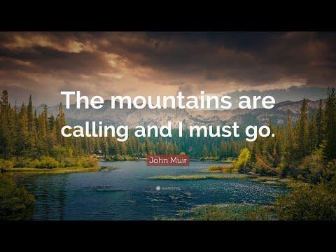 TOP 20 John Muir Quotes