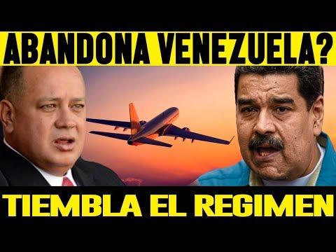 Maduro Abandona Venezuela??