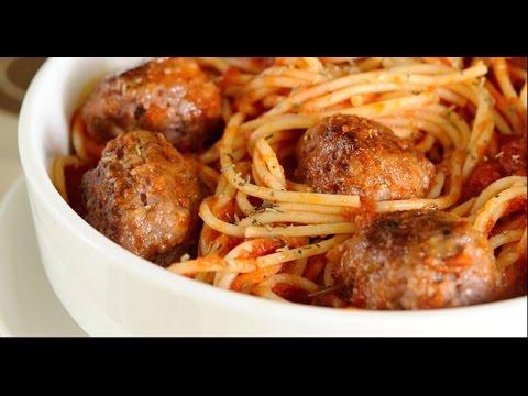 Cocinar espagueti rojo con alb ndigas f cil y r pido - Cocinar facil y rapido ...