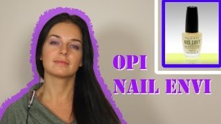 Обзор: уход за ногтями OPI Nail Envi Original Natural Nail Strengthener