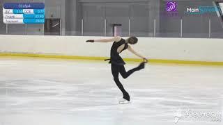 Султанмагомедова Камила Короткая программа Кубок Москвы по фигурному катанию на коньках 2020г
