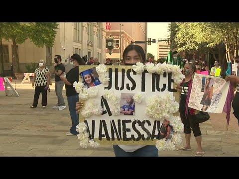 Vigil For Vanessa Guillen Held In Downtown San Antonio