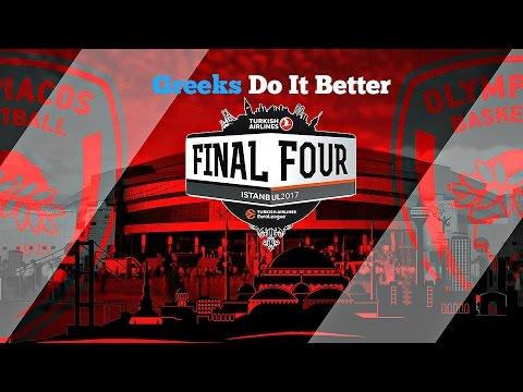 Olympiakos B.C ● - ''Greeks Do It Better'' - (Road to F4) 2016-2017●ᴴᴰ