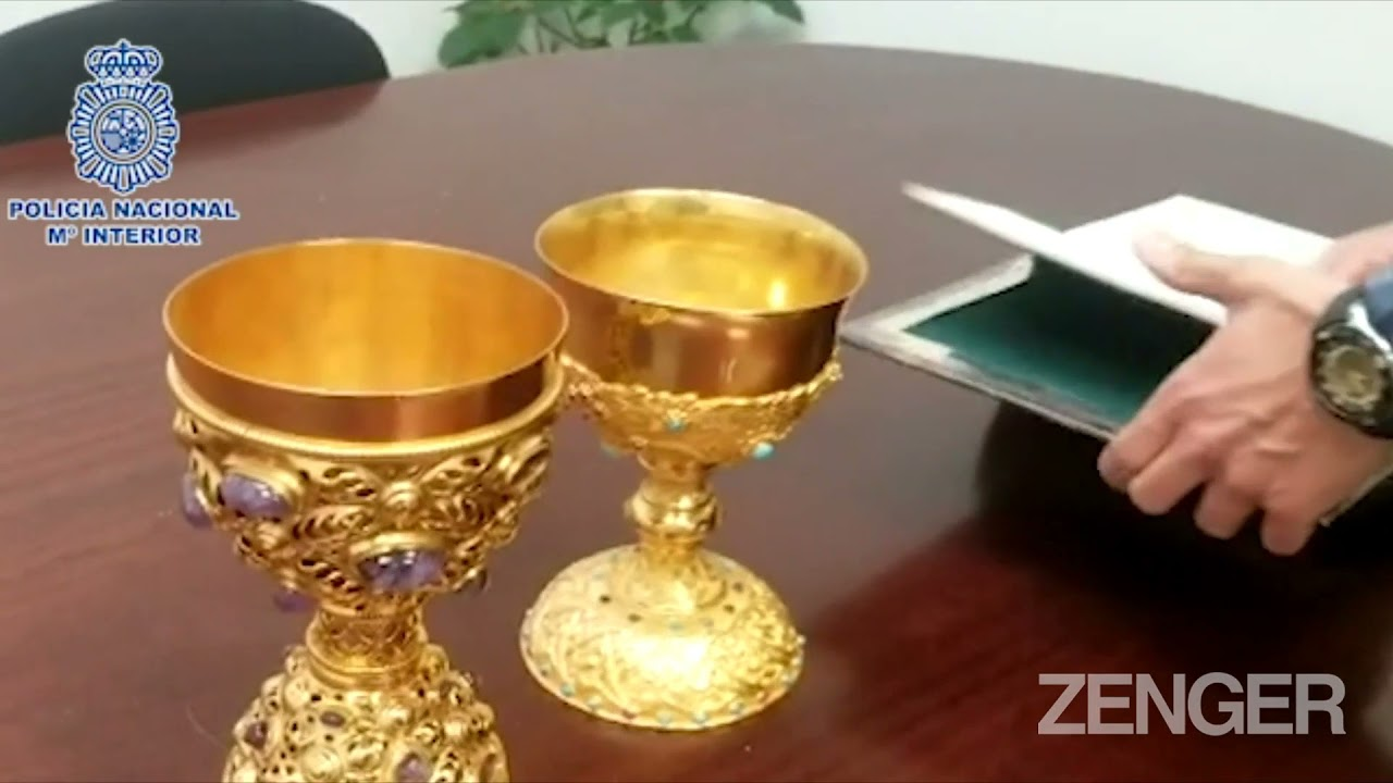 Judgement Day: Hapless Crook Stole Golden Church Goblets And Tried To Sell Them Online