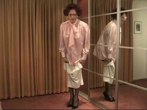 petticoat striptease