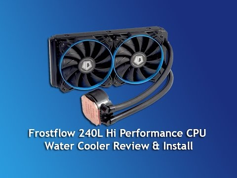 Hi Performance CPU Water Cooler Review & Install