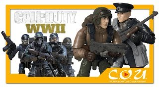 Новые наборы Mega Construx CALL OF DUTY 2017 - 2018 |  MQ-27 Dragonfire, Urban Troop Pack, WWII pack
