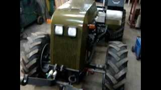 Traktorek sam 4x4 rosomak test oświetlenia