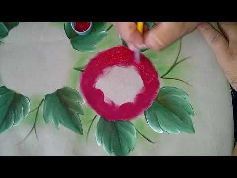 pintando flor crisantemo o gerbera youtube