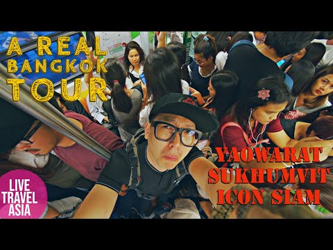 One Day Tour Of The Real Bangkok *I Am The Worst Guide*