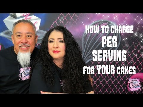 How To Charge Per Serving For YOUR Cakes - Cake Biz Video Series