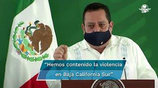 El gobernador Carlos Mendoza Davis aseguró que gracias a la coordinación que ha habido entre los tres órdenes de gobierno, Baja California Sur se ubica como el segundo estado con menos homicidios en todo el país, además de que, indicó, es la entidad que en el primer semestre ha disminuido más la incidencia delictiva