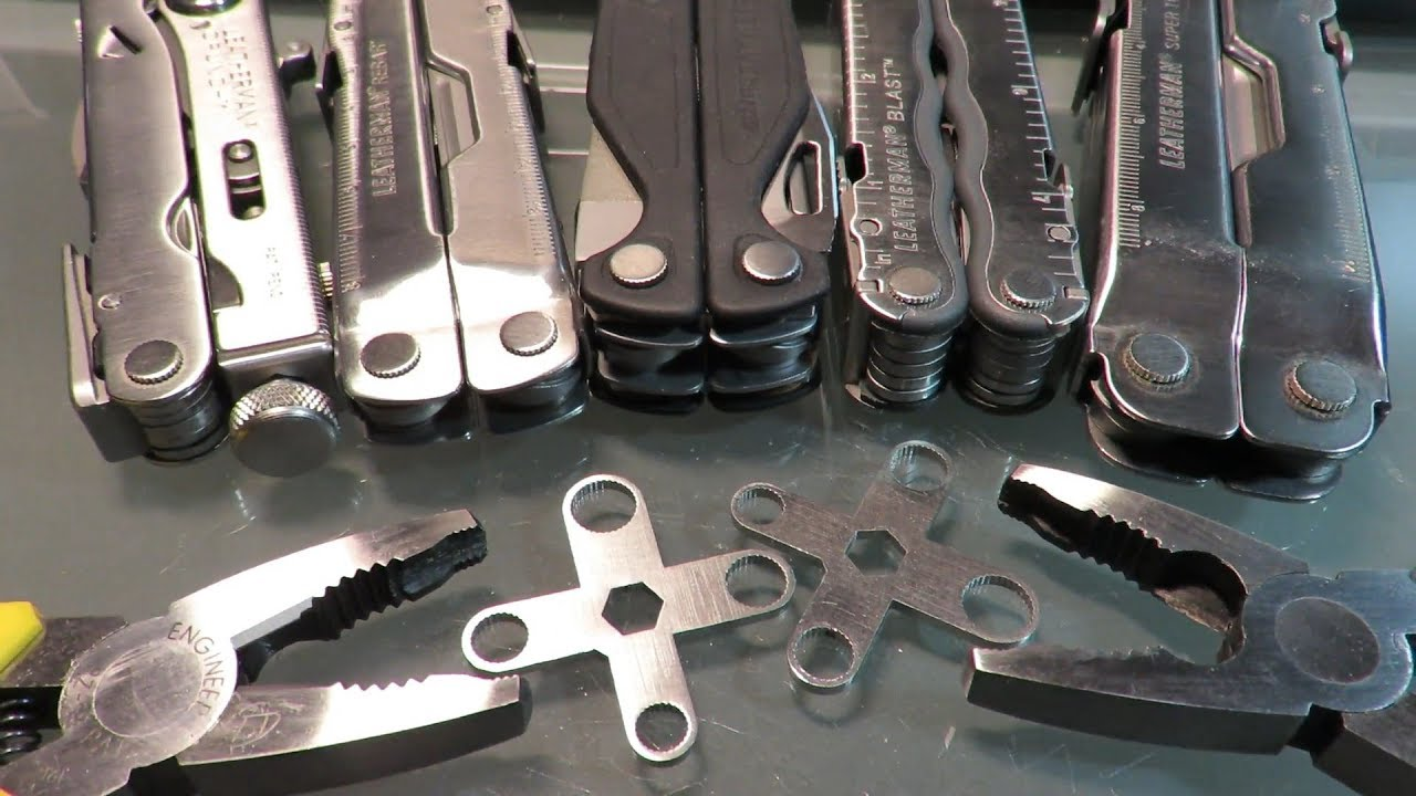Leatherman Multi-tools : Special Wrenches for Disassembly or Adjustment : a  Must Have !