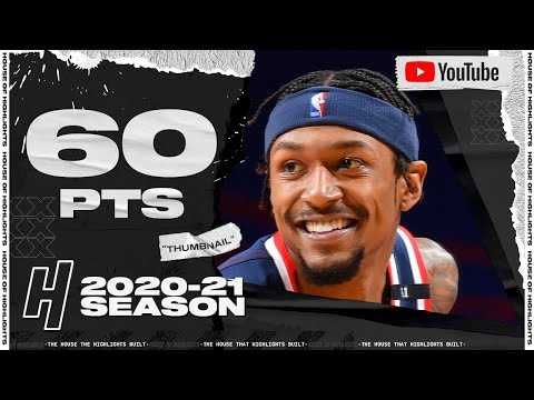 Bradley Beal EPIC 60 Points Full Highlights vs 76ers   January 6, 2021   2020-21 NBA Season