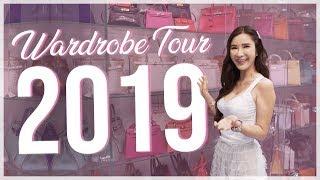 WARDROBE + ROOM TOUR 2019 | JAMIE CHUA