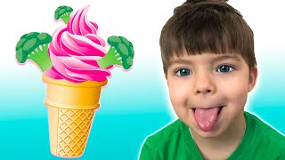 Do You Like Broccoli Ice Cream Song? 🥦 | 동요와 아이 노래 | 어린이 교육 | Nikki Kids Song