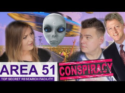 WHAT HAPPENS AT AREA 51!? ALIEN CONSPIRACIES!