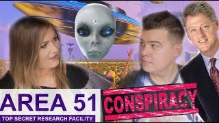 what happens at area 51 alien conspiracies