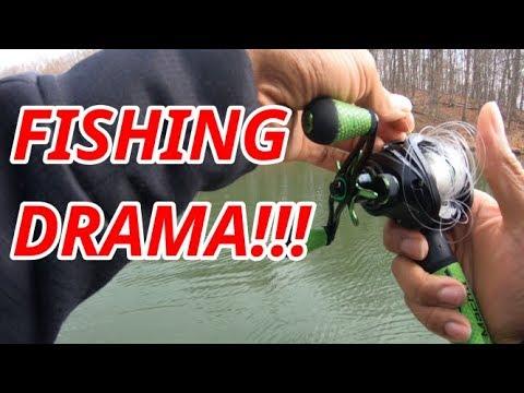 FISHING DRAMA - What Else Could Go Wrong??? PINEY RUN LAKE