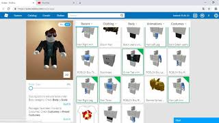 ROBLOX Guide 1 How to make a simple avatar