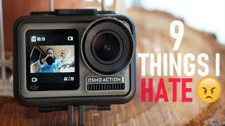 9 Things I Hate About The Osmo Action | DansTube.TV